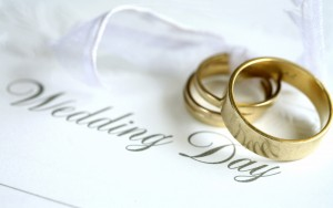 Stationary and wedding rings